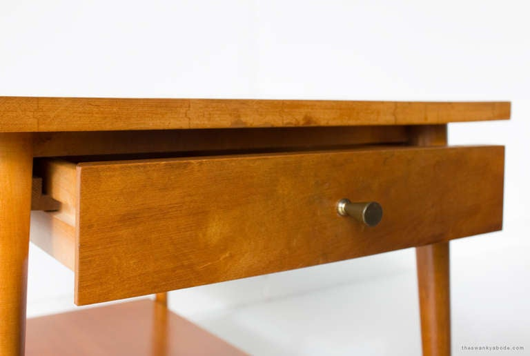 Mid-Century Modern Paul McCobb Nightstand for Winchendon, Planner Group Series For Sale