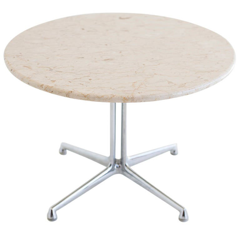 Eames Marble Coffee Table: Ray And Charles Eames La Fonda Marble Side Table At 1stdibs