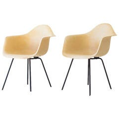 Charles And Ray Eames Early X Base Shell Chairs For Herman Miller