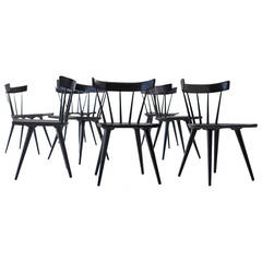 Paul McCobb Dining Chairs for Planner Group, Set of Eight