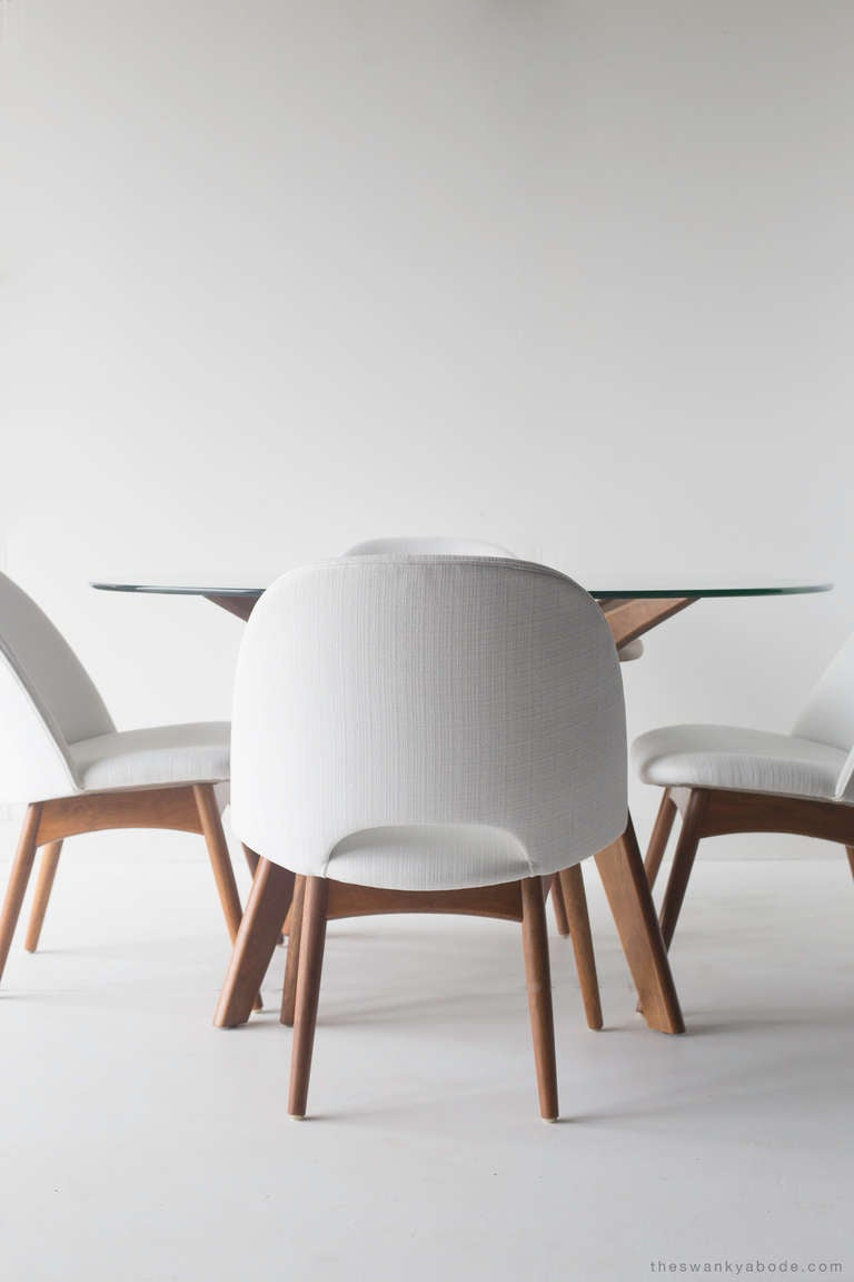 Adrian Pearsall Game Table and Chairs for Craft Associates 5