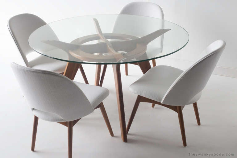 Adrian Pearsall Game Table and Chairs for Craft Associates 6