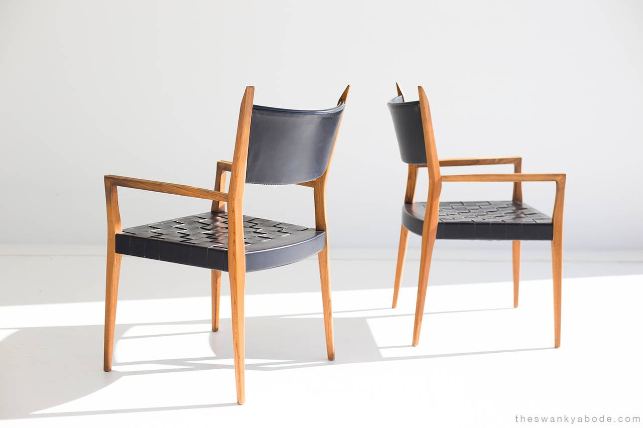 Paul McCobb Dining Chairs for Calvin For Sale at 1stdibs