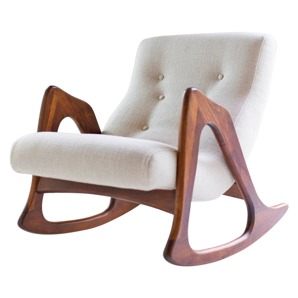 Adrian Pearsall Rocking Chair For Craft Associates For Sale
