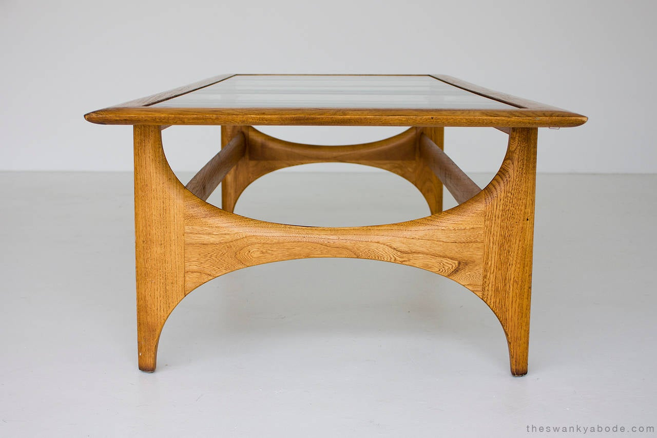 Walnut Coffee Table For Lane For Sale At 1stdibs