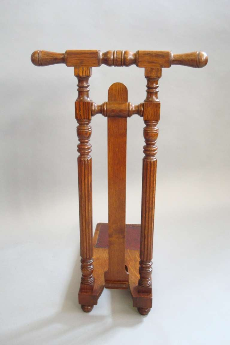 A Good Quality Harrods Country House Oak Boot Jack At