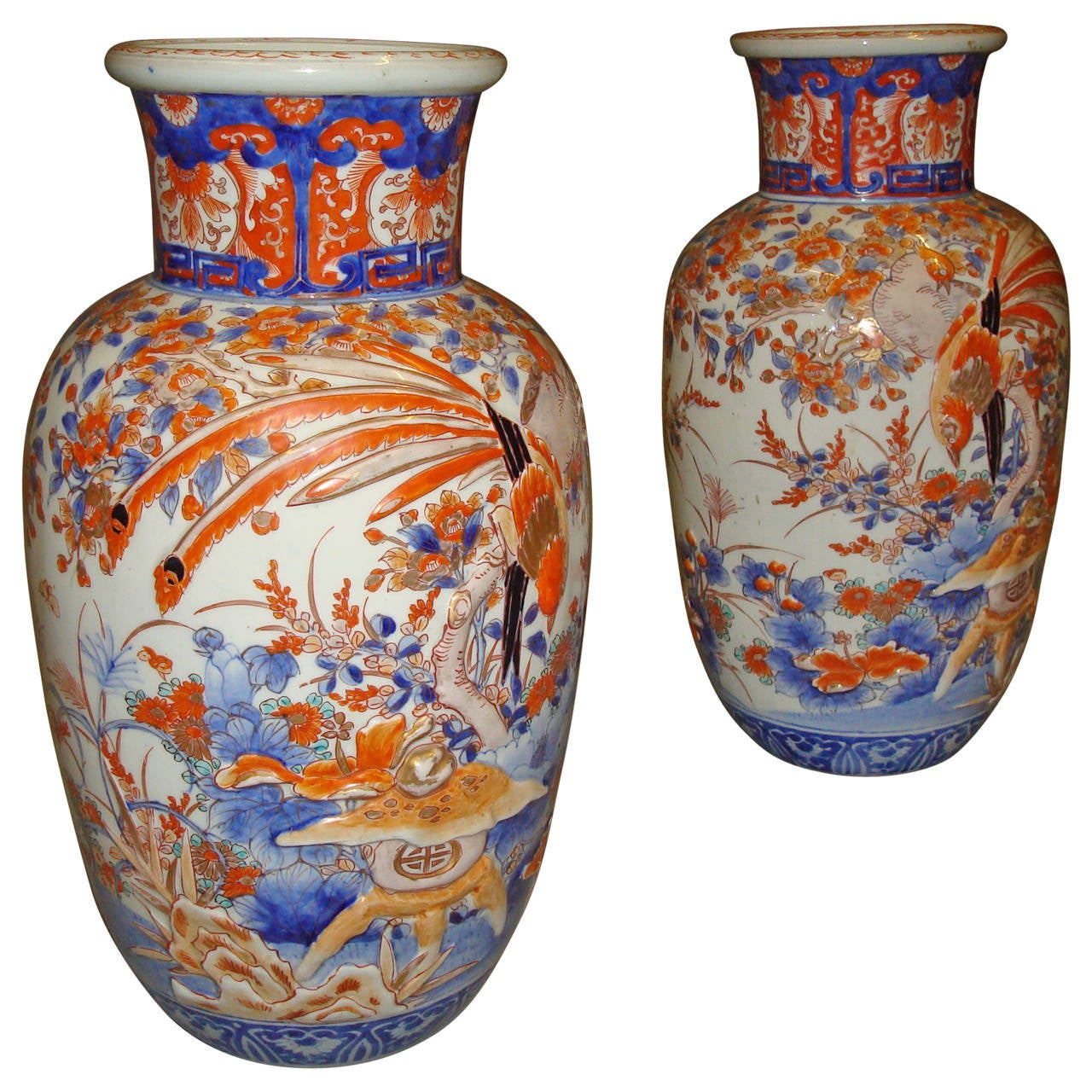 Large 19th century pair of imari vases at 1stdibs large 19th century pair of imari vases for sale reviewsmspy