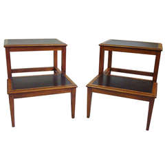 A Rare Pair of Regency Mahogany Library Steps