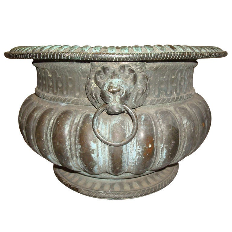18th Century Italian Bronze Wine Cistern