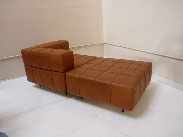 Modular Chaise Lounge Seating Sofa By Harvey Probber At