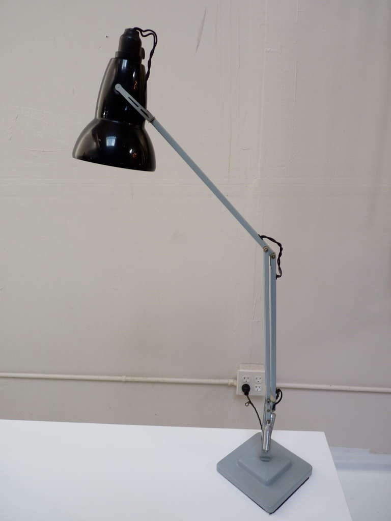 Industrial Anglepoise Task Lamp By Herbert Terry At 1stdibs