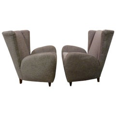 Pair of Chairs by Paolo Buffa