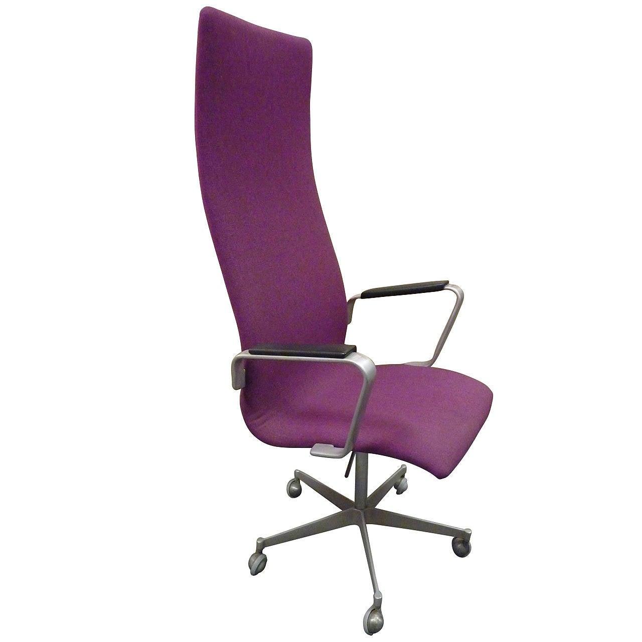 Oxford Desk Chair By Arne Jacobsen For Fritz Hansen At 1stdibs