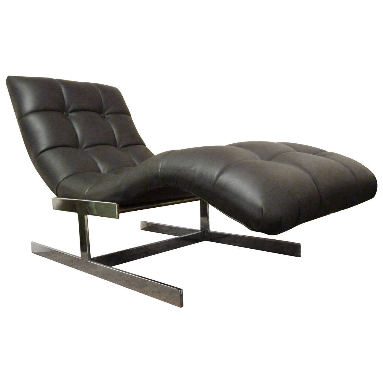 Milo baughman chaise longue at 1stdibs for Chaise longue sale