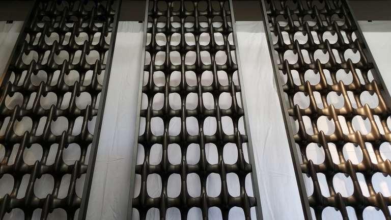 Monumental Quot Bones Quot Architectural Screen Panels By Don