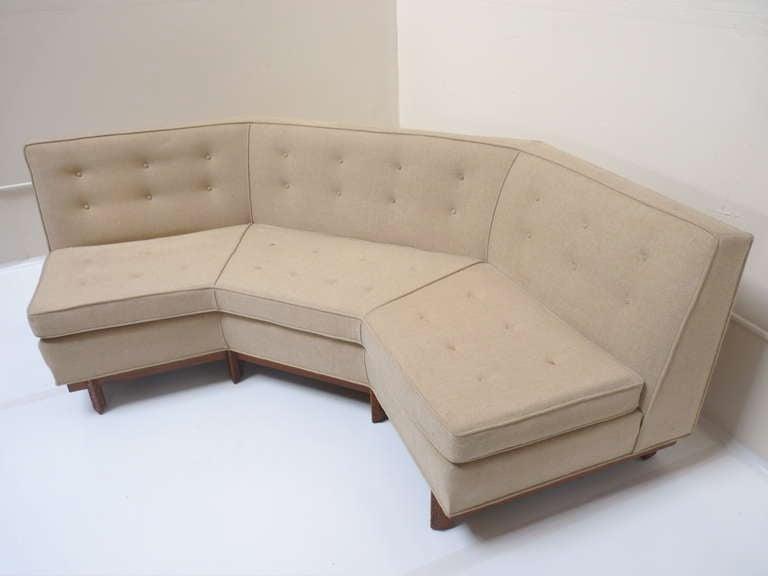 Angular Sofa By Frank Lloyd Wright At 1stdibs