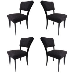 Set Of 4 Dining Chairs by Paul Laszlo For Brown Saltman