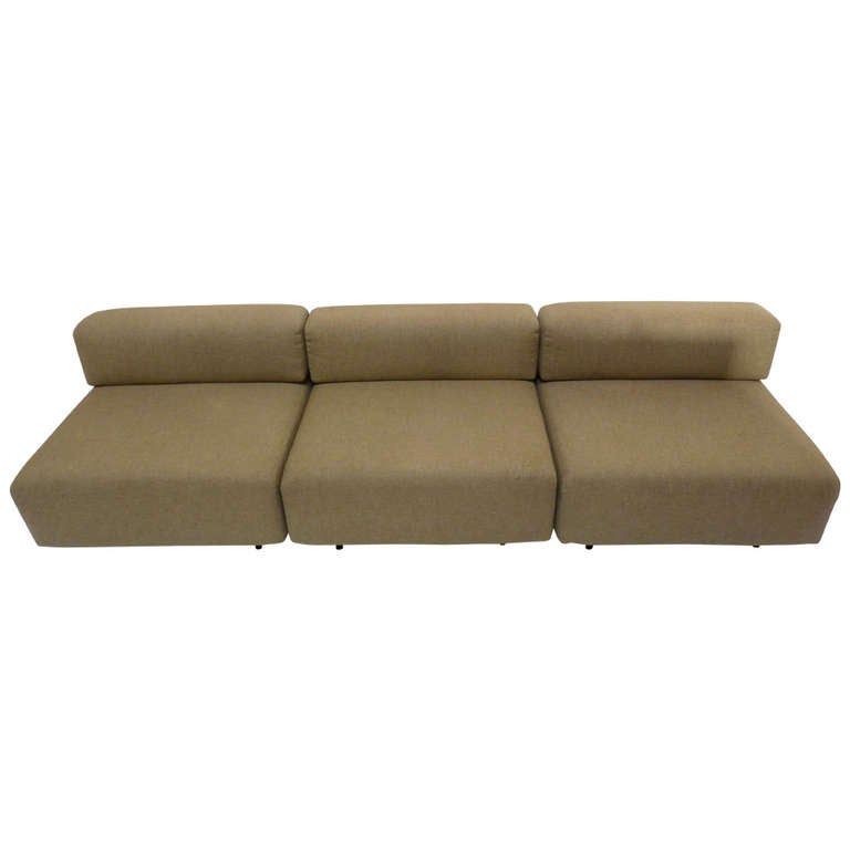 """""""Cubo"""" Sectional by Harvey Probber"""