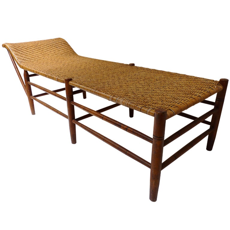 Arts and crafts chaise lounge at 1stdibs for 1930s chaise lounge