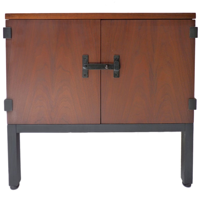 cabinet styles nightstand table by milo baughman for directional at 1stdibs 13059