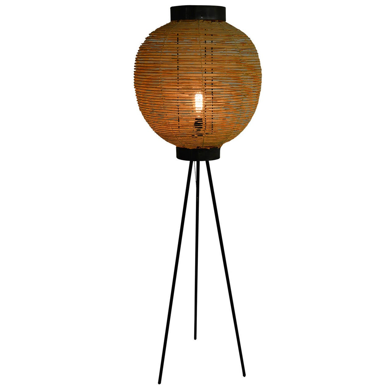 1950s japanese tripod floor lamp at 1stdibs With floor lamp japan