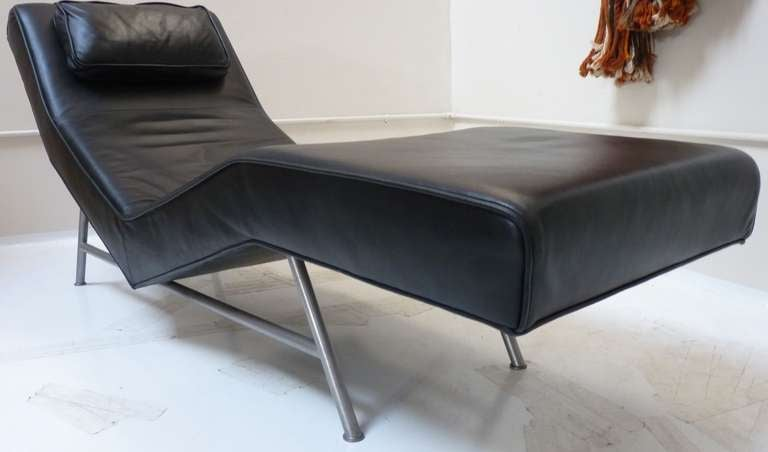 American Chaise Lounge by Milo Baughman for Thayer Coggin