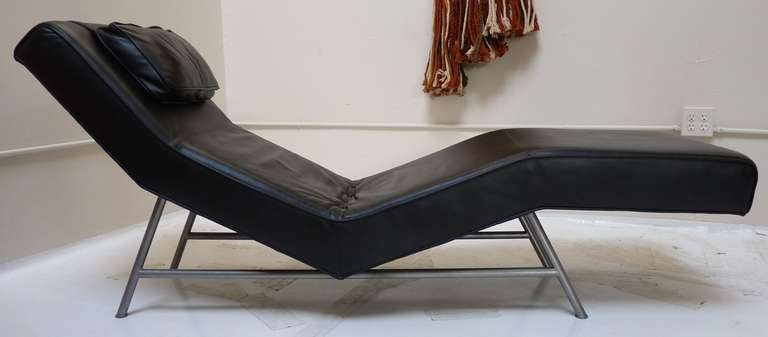 Chaise Lounge by Milo Baughman for Thayer Coggin In Good Condition In San Diego, CA