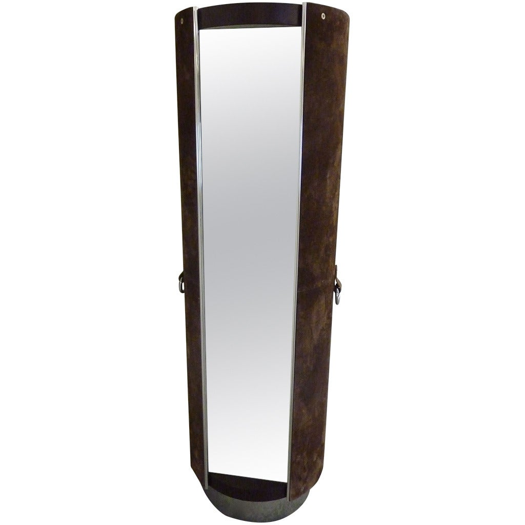Pace Collection Valet And Full Length Mirror At 1stdibs