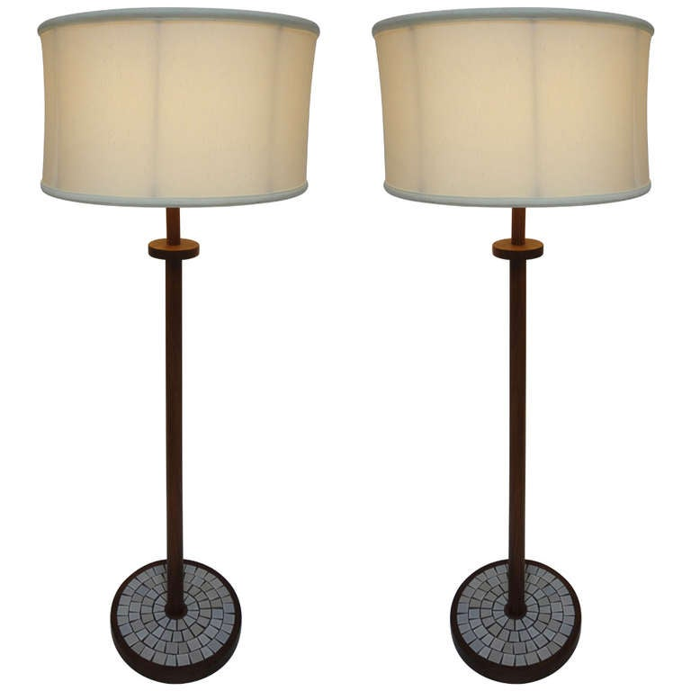 Pair Of Floor Lamps By Gordon And Jane Martz For Marshall