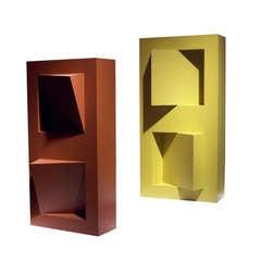 Gerald DiGiusto Meta Box Red and Yellow, 1972
