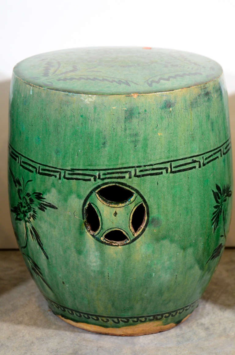 Antique Chinese Ceramic Garden Stools At 1stdibs