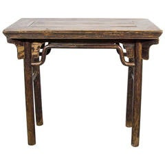 Wine Table with Beautiful Patina