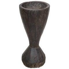 Tall Teak Mortar