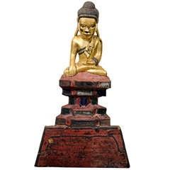 Antique Karen Buddha