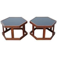 Pair of John Keal for Brown Saltman Tables