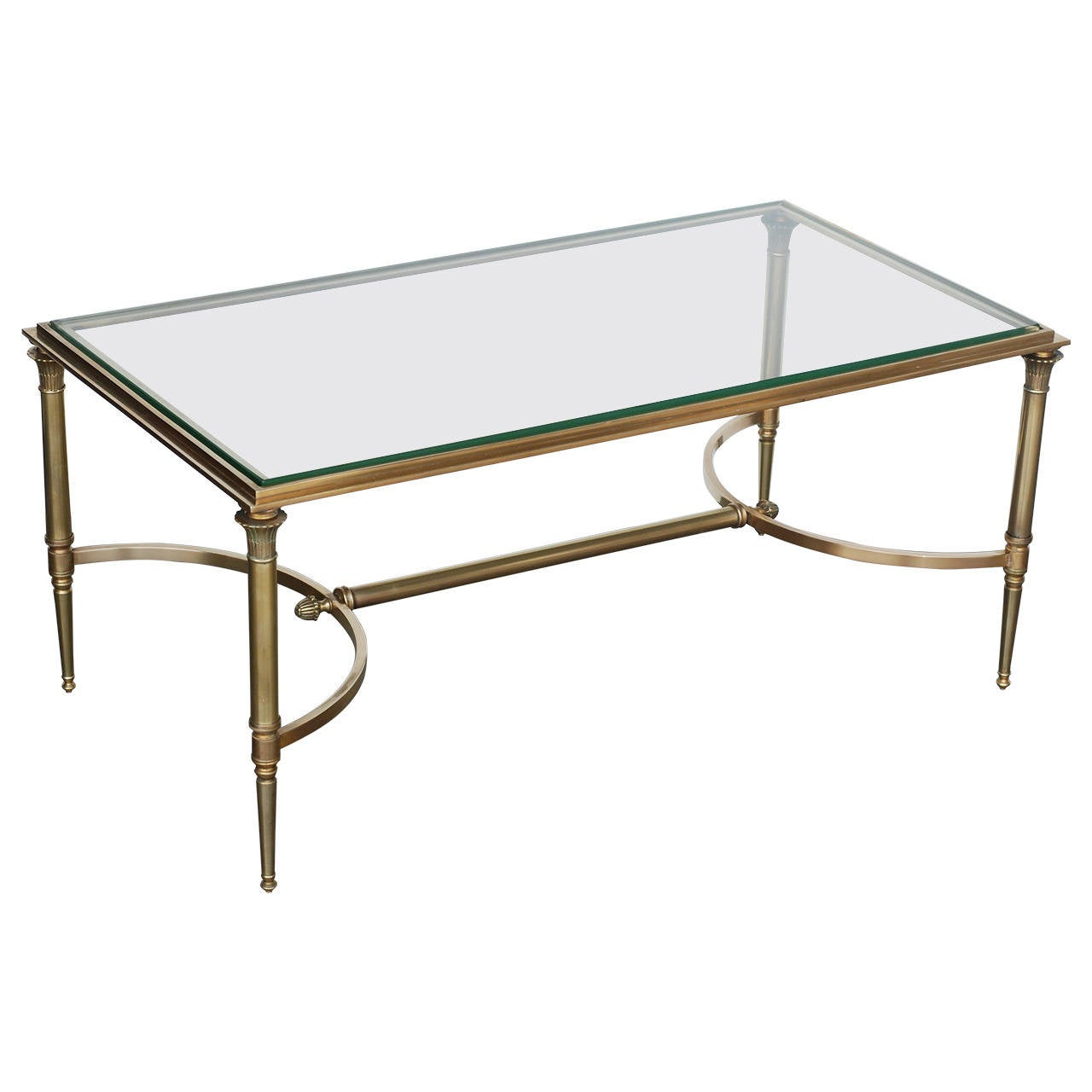 Bronze coffee table in the style of maison bagues at 1stdibs Bronze coffee tables
