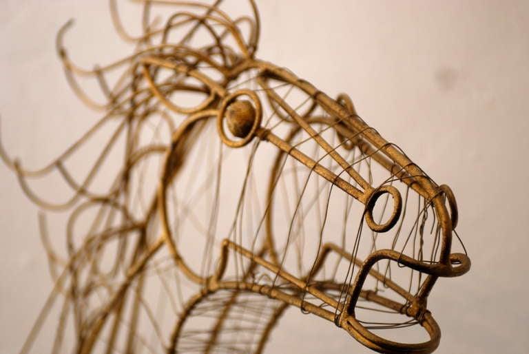 Curtis Jere Horse Head Sculpture 8