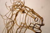 Curtis Jere Horse Head Sculpture image 8