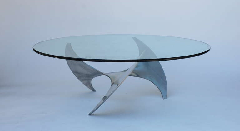 Knut Hesterberg Propeller Coffee Table at 1stdibs