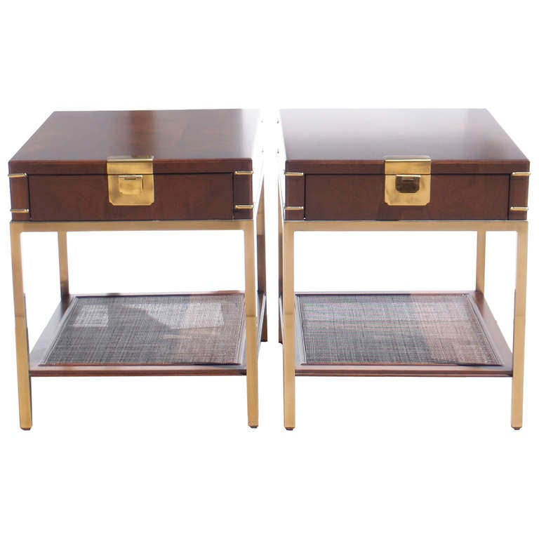 Drexel Heritage Side Tables NIghtstands Bedside Tables 1