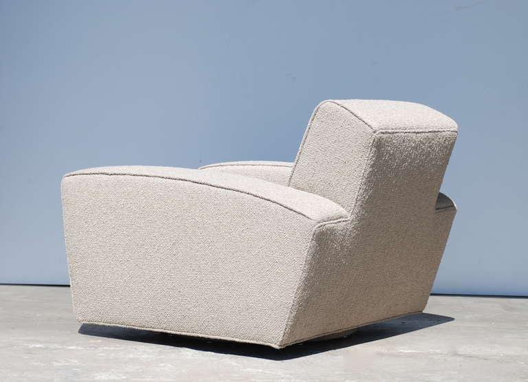 Speed Chair Swivel Lounge Deco Streamline Moderne