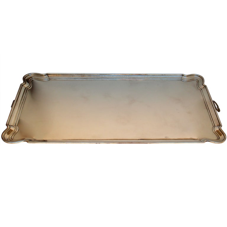 Large Brass Tray for Table top or Ottoman : XXXP6178360 from 1stdibs.com size 768 x 768 jpeg 26kB
