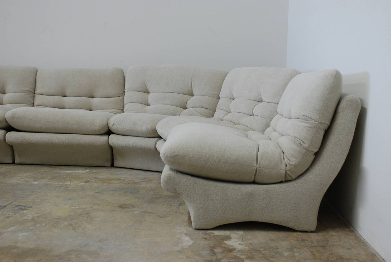 Low Slung 1970s Style Sectional Sofa At 1stdibs
