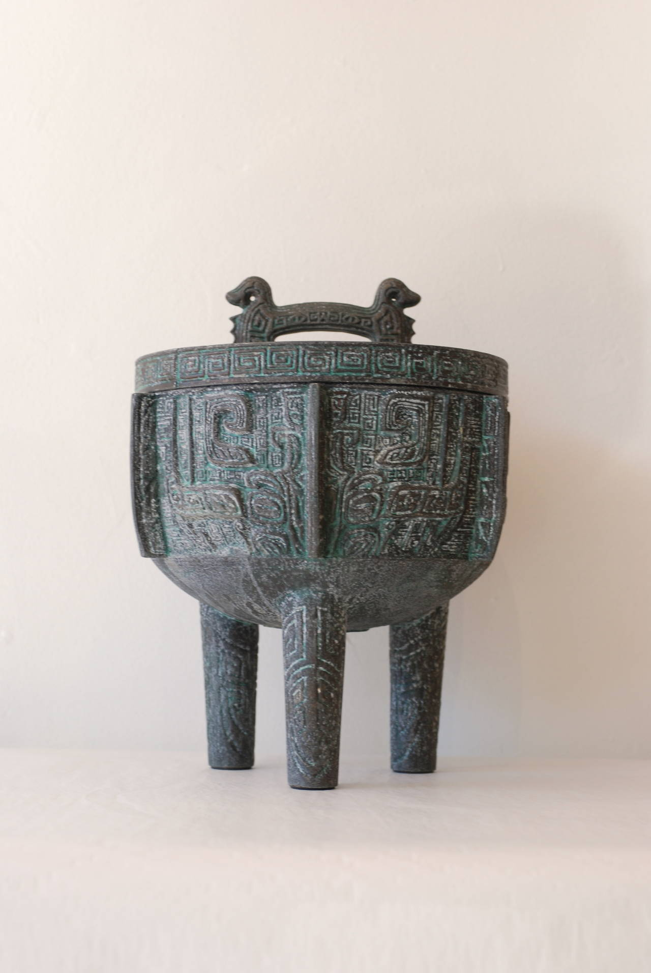 James Mont Attributed Cast Copper Ice Bucket At 1stdibs