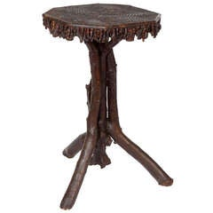 19th Century Twig Table