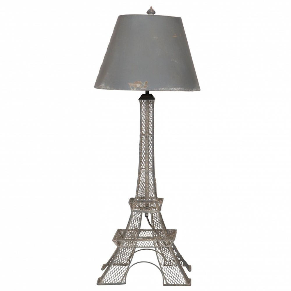 french eiffel tower lamp c 1900 at 1stdibs. Black Bedroom Furniture Sets. Home Design Ideas