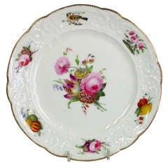 Nantgarw Brace Service Type Dessert Plate