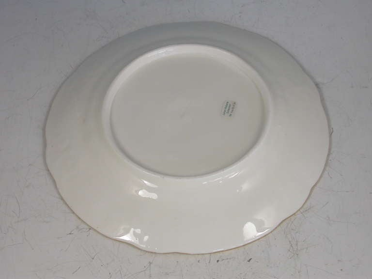 nantgarw brace service type dessert plate for sale at 1stdibs