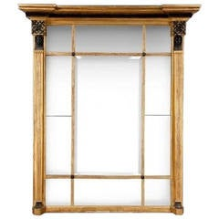 Regency Giltwood Overmantle Mirror with Interesting Provenance