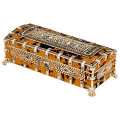 Late 19th Century Tortoiseshell Box